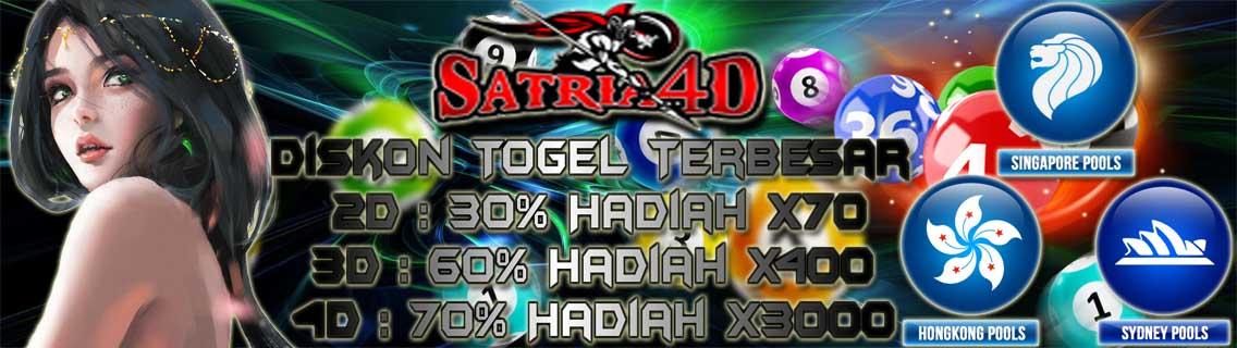 Satria4D - Bandar Togel Hari IniOnline
